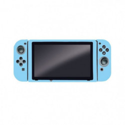 Housse de Protection bleue en silicone Steelplay pour Switch