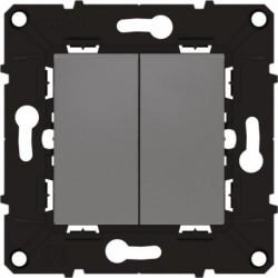 ARNOULD Espace évolution Poussoir 6A + interrupteur 10A