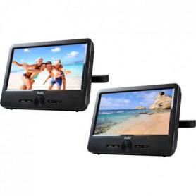 """D-JIX PVS 906-70DP Double Lecteur DVD portable 9"""""""