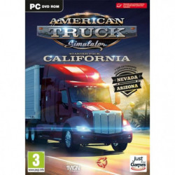 American Truck Simulator - California Starter pack Jeu PC
