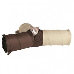 TRIXIE Tunnel de jeu nylon - Pour chat