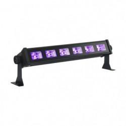 IBIL LED-UVBAR6 Barre à led uv 6 x 3w - Noir