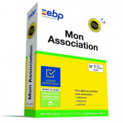 EBP Mon Association - Derniere version - Ntés Légales inclus