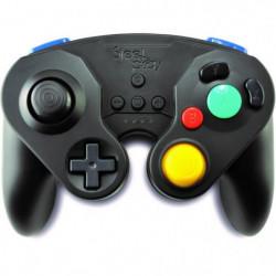 Manette Neo Retro Pad Sans Fil Steelplay Noire pour Switch