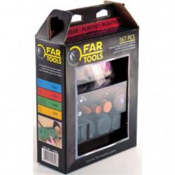 FARTOOLS Set 167 accessoires pour mini meuleuse pour plastique