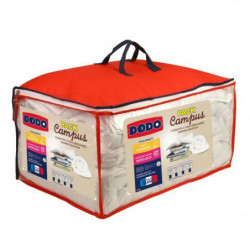 Pack CAMPUS 1 Couette tempérée 140x200cm + 1 Oreiller 60x60
