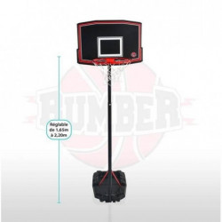 BUMBER Panier de Basket Phoenix réglable - 220 cm Basketball