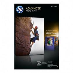 Papier photo HP 25 feuilles 10x15 250g
