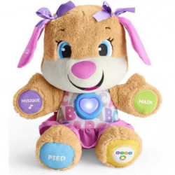FISHER-PRICE - Puppy Sister - Peluche d'Eveil Progressif
