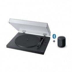 SONY PS-LX310XB + SRS-XB12 - Platine Vinyle Bluetooth