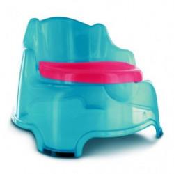 DBB REMOND Fauteuil Pot 3 en 1 avec Couvercle Turquoise