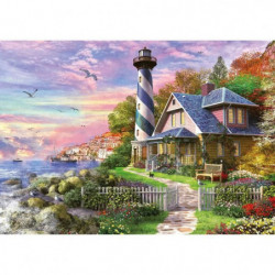 EDUCA Puzzle 1000 Phare A Rock Bay