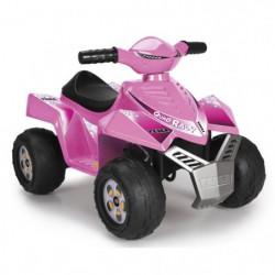 FEBER - Quad Racy Pink - Véhicule Electrique pour Enfant 6 V