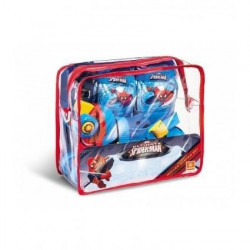 SPIDERMAN Rollers Réglables et protections (taille 22 a 29)