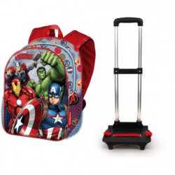 AVENGERS Sac a dos Trolley Basic