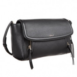 DKNY Sac a Bandouliere R361210203 CHELSEA VINTAGE Noir Femme