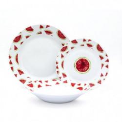 ABS - T1903300-X - Service de table - 18PCS - En porcelaine