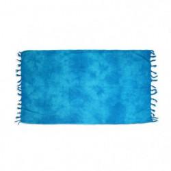 SOLEIL D OCRE Fouta de bain Tie and Dye - 100% coton - 80x150cm