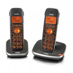 SWITEL D102 Téléphone sénior sans fil DUO, amplifié