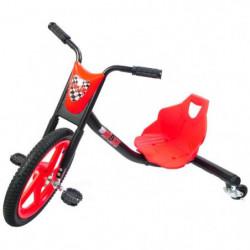 BIBEE-DRIFT RIDER Tricycle 901252 - Noir et rouge