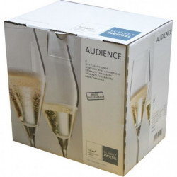 SCHOTT ZWIESEL Boîte de 6 flûtes a champagne Audience - 25 cl