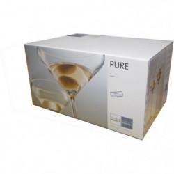 SCHOTT ZWIESEL Boîte de 6 verres a martini Pure - 25,1 cl