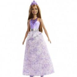 BARBIE - Princesse Dreamtopia Châtain - Poupée Mannequin