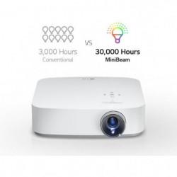 LG PF50KS Vidéoprojecteur LED DLP Full HD Léger et Compact