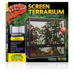 EXO TERRA Terrarium grillagé - 90x45x90 cm