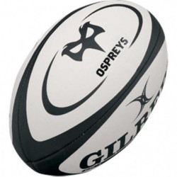 GILBERT Ballon de rugby Replica Ospreys T5