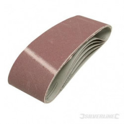 5 bandes abrasives 75 x 533 mm