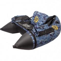 SEVEN BASS Float tube Air Hard Fabric Line - Bleu