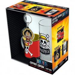 Pack Mug + Porte-clés + Mini Mug One Piece - Verre 29cl