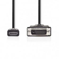 NEDIS CCGP34800BK20 Cable HDMI vers DVI-D 24+1