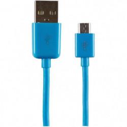APM Câble Micro USB 1.50m - Bleu