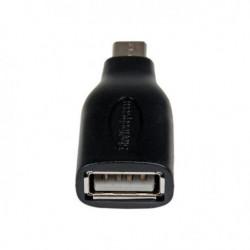Adaptateur USB 2.0 Micro USB B OTG - M/F - Adaptateur USB 2.0