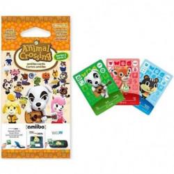 Cartes Animal Crossing Série 2 (paquet de 3 cartes