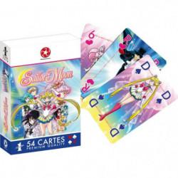 WADDINGTONS N°1 - Sailor Moon - Jeu de 54 cartes