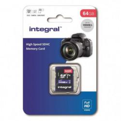 INTEGRAL MEMORY V10 Class 10 UHS-I U1 Carte SDXC 64GB
