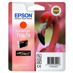 Epson T0879 Flamant Rose Cartouche d'encre Orange