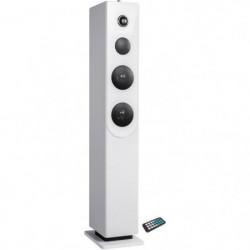 INOVALLEY HP33-CD Tour de son Bluetooth - Lecteur CD - Blanc