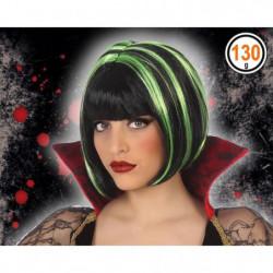 ATOSA - Perruque vampire Adultes Femmes - Vert