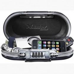 MASTER LOCK Mini-coffre de rangement portable pour voyage