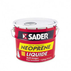 SADER Seau colle contact liquide néoprene - 2,5 L