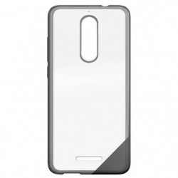 Coque Wiko View Protection Originale Rigide Transparent