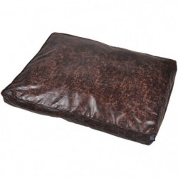 Coussin rectangle Chesterfield - Polyester - 80 x 60 x 8 cm