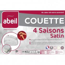 ABEIL Couette 4 SAISONS Satin de Coton 240x260cm