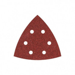 WOLFCRAFT 1 Lot 20 Patins triangle agrippant perforés