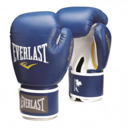 EVERLAST Gants de boxe Thai - Bleu - 8 Oz