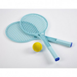 ECOIFFIER Tennis play - 2 Raquettes + Balle en mousse